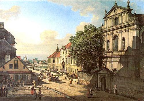 Bridgettine Church and Arsenal, 1778 - Бернардо Беллотто