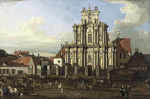 Visitationist Church in Warsaw, 1780 - Bernardo Bellotto