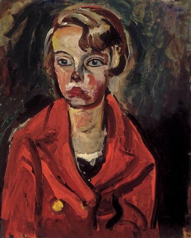 Child in Red Coat, 1930 - Bertalan Por