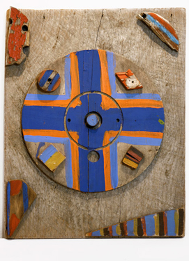 Eye of the Cross, 1976 - Betty Parsons