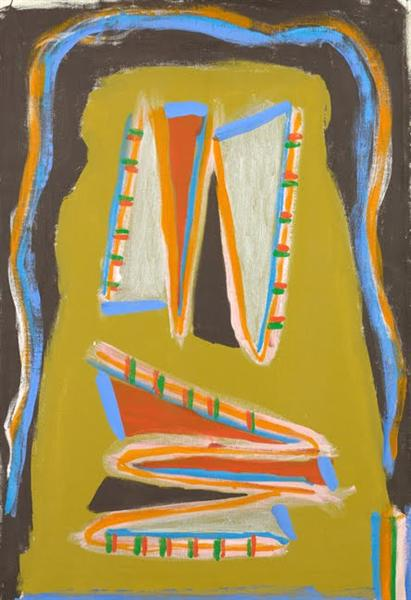 Indian Writhing, 1977 - Betty Parsons