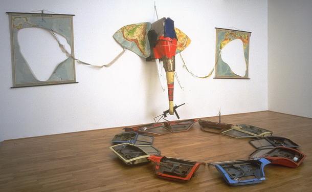 Elephant, 1984 - Bill Woodrow