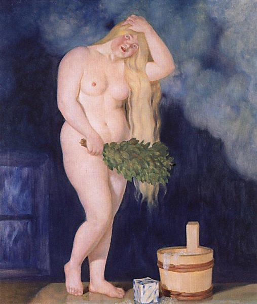 Russian Venus, 1925 - 1926 - Borís Kustódiev