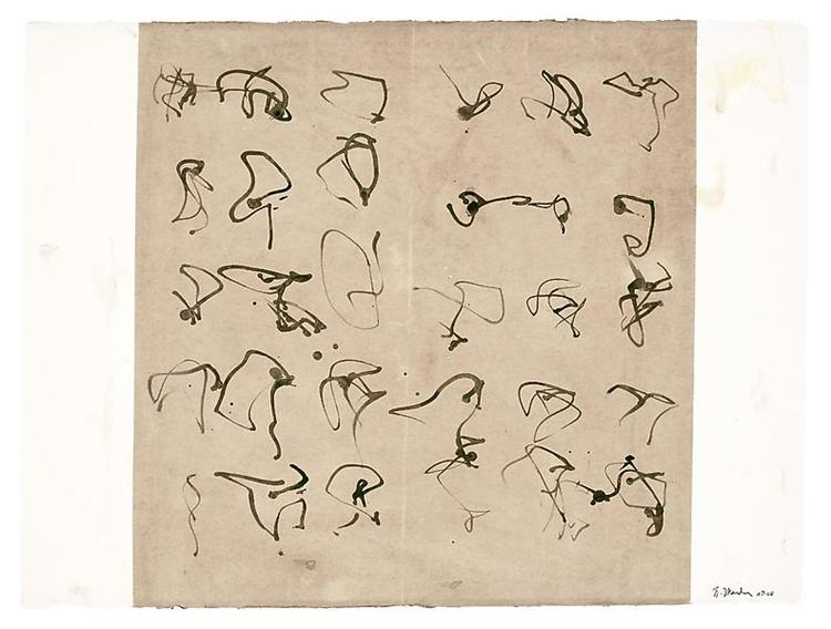 Forgery, 2008 - Brice Marden