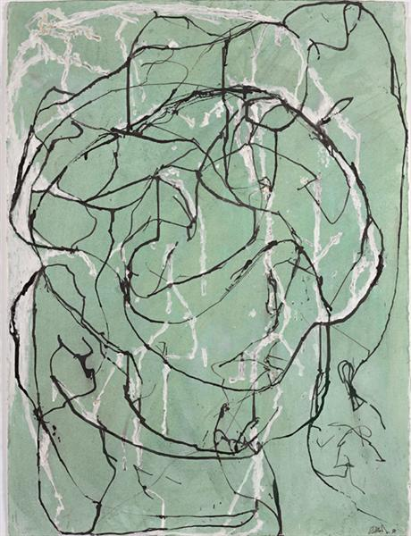 Post Calligraphic Drawing - Brice Marden