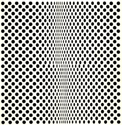 Fission, 1963 - Bridget Riley