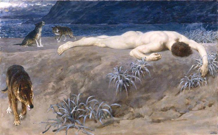 Dead Hector, 1892 - Briton Riviere