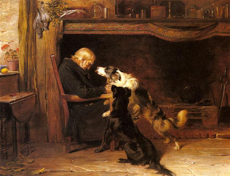 The Long Sleep, 1868 - Briton Riviere