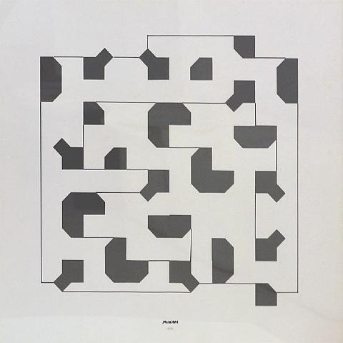 Curva di Peano, 1975 - Bruno Munari