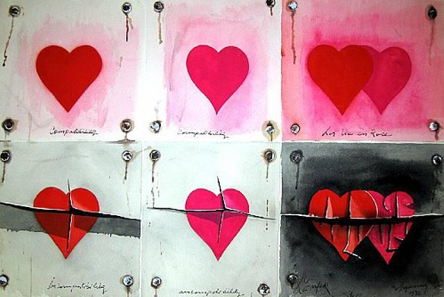 La Vie en Rose, 1974 - Burhan Dogancay