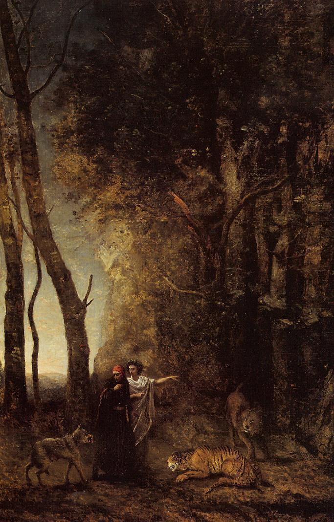 The Barque of Dante (Dante and Virgil in the Underworld