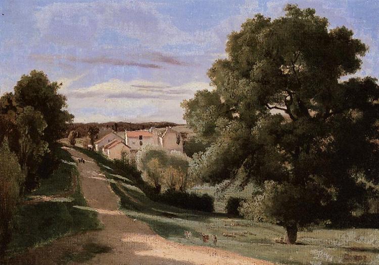 Little Chaville - Camille Corot