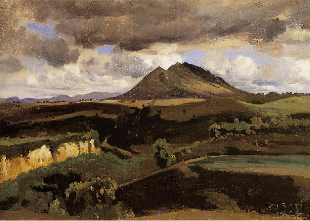 Mont soracte camille corot for Camille corot
