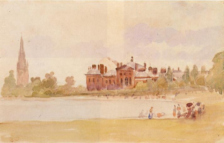 Kensington Gardens, c.1890 - Camille Pissarro