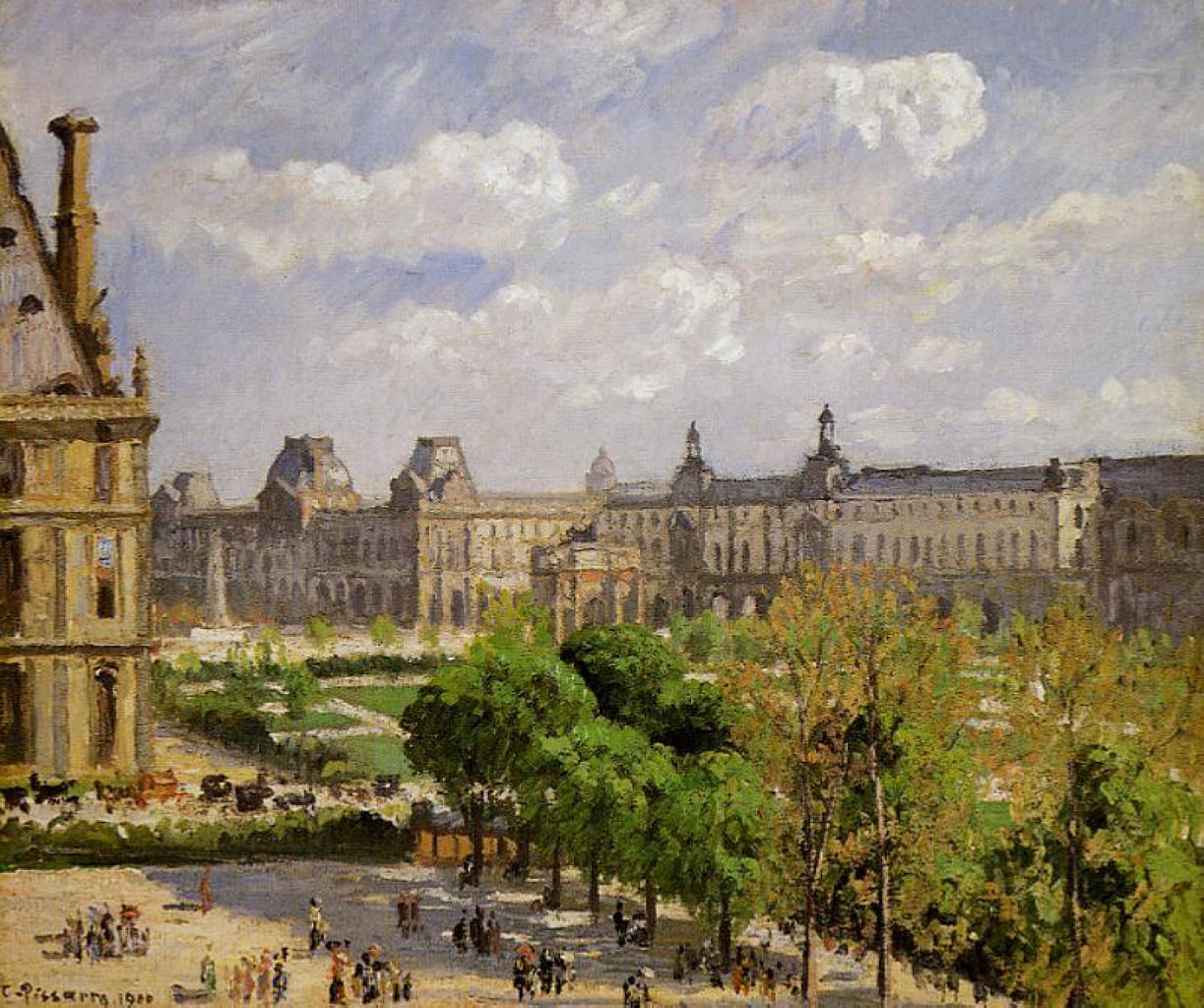 Place du Carrousel, the Tuileries Gardens - Camille ...