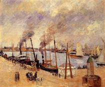 The Port of Le Havre 2 - Camille Pissarro