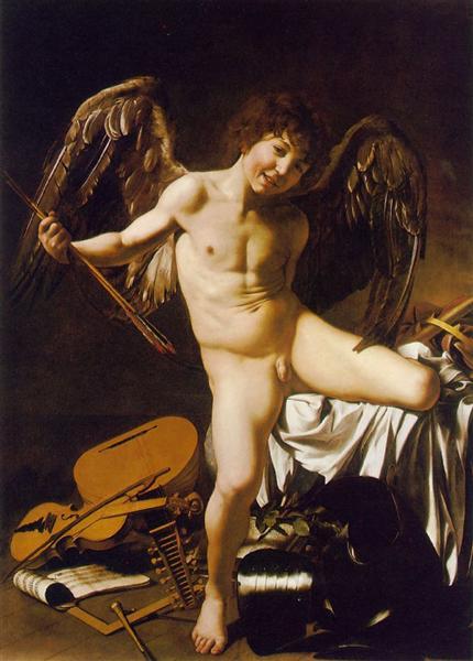 Amor Victorious - Caravaggio