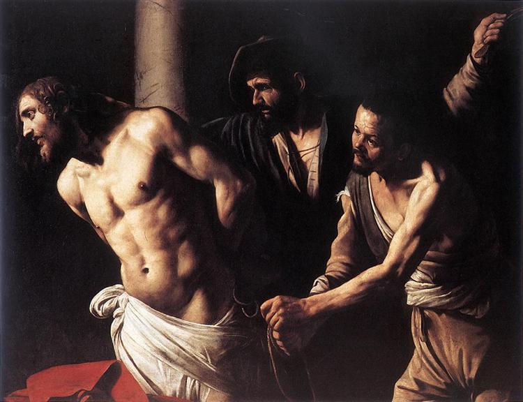 Christ at the Column, c.1607 - Caravaggio