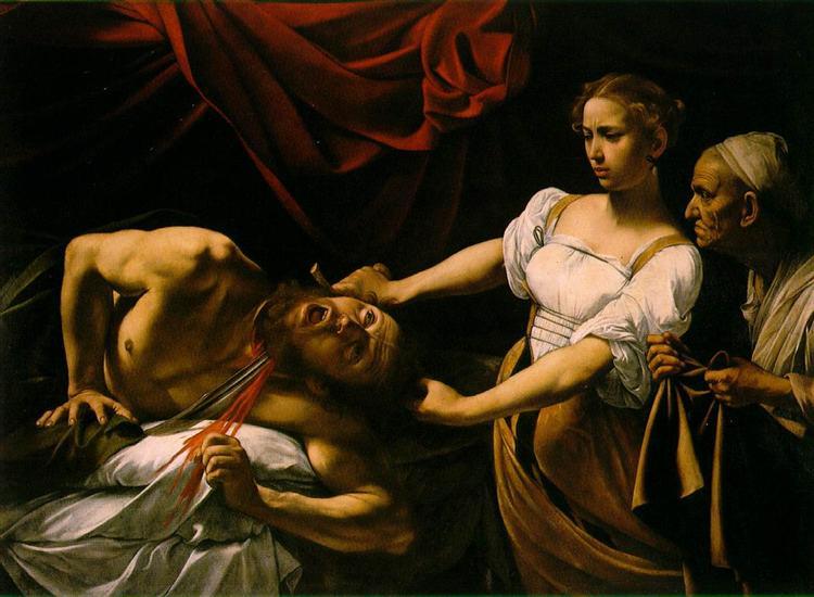 Judith Beheading Holofernes, c.1598 - 1599 - Caravaggio