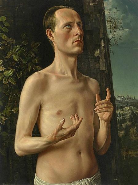 St. John the Baptist (Self-Portrait), 1938 - Карел Вілінк