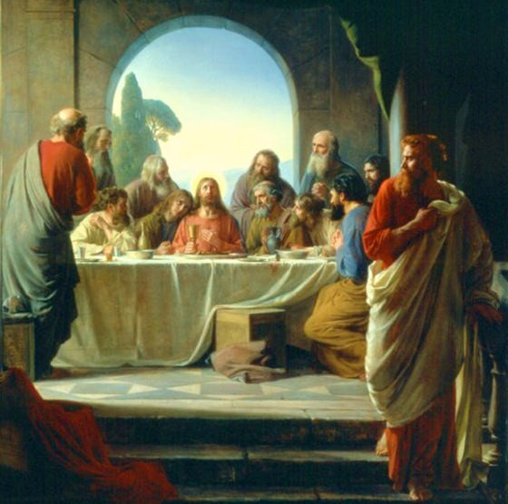 The Last Supper - Карл Блох