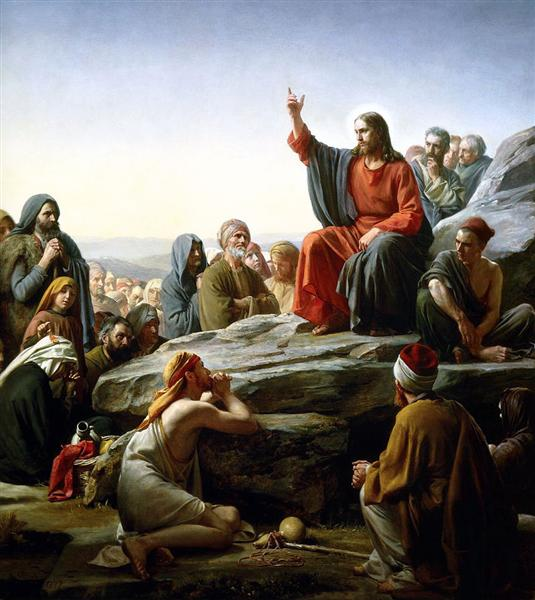 The Sermon on the Mount - Carl Bloch