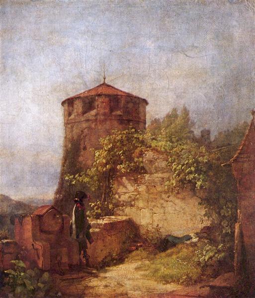 Sleeping guards, 1848 - Carl Spitzweg