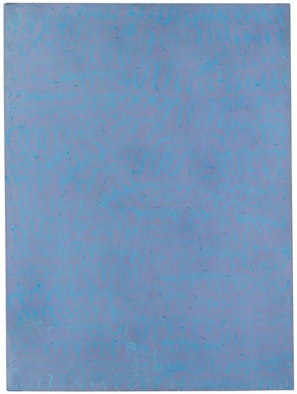 Azzurro turchese, 1964 - Carla Accardi