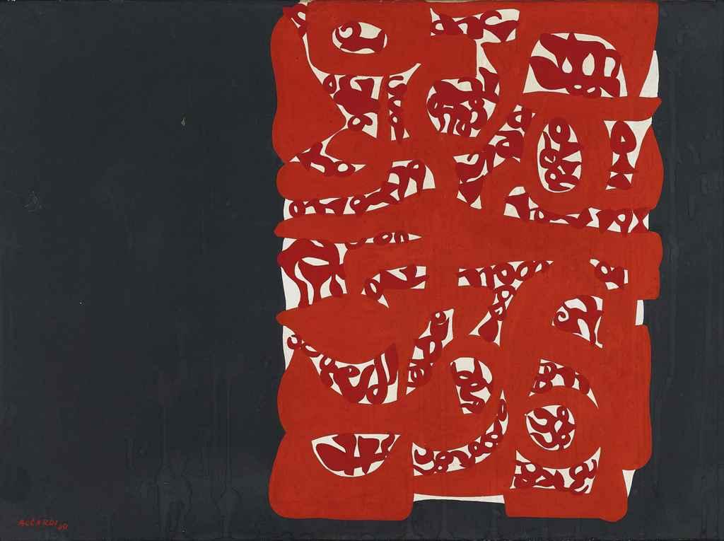 Rettangolo rosso, 1960