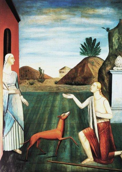 Le figlie di Loth, 1919 - Carlo Carrà