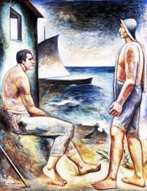 Pescatori - Carlo Carra