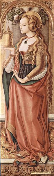 Mary Magdalene, 1480 - 1490 - Carlo Crivelli