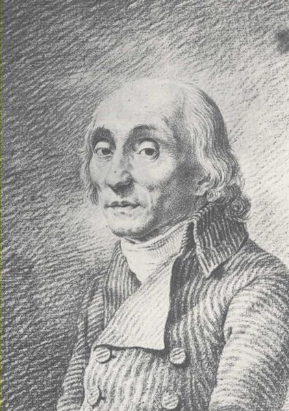 Ernst Theodor Johann Bruckner, c.1801 - Caspar David Friedrich