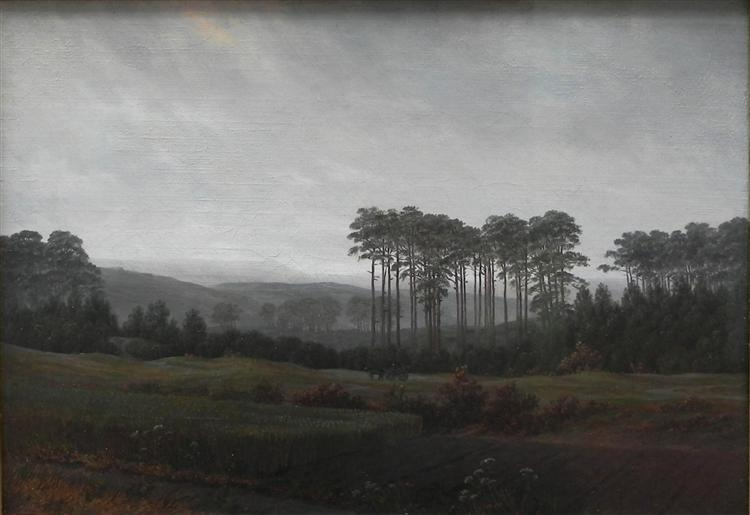 Afternoon, 1821 - Caspar David Friedrich