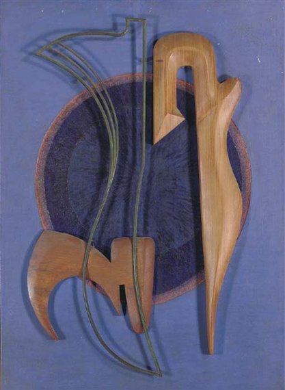 Meditation (Relief), 1950 - Cesar Domela