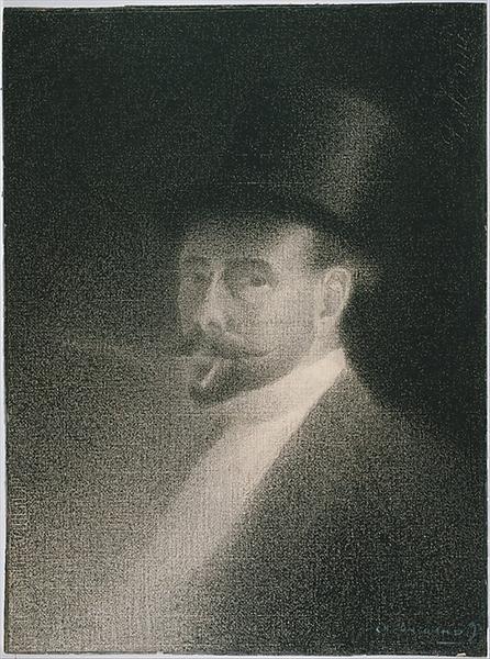 Self-Portrait, 1892 - Charles Angrand