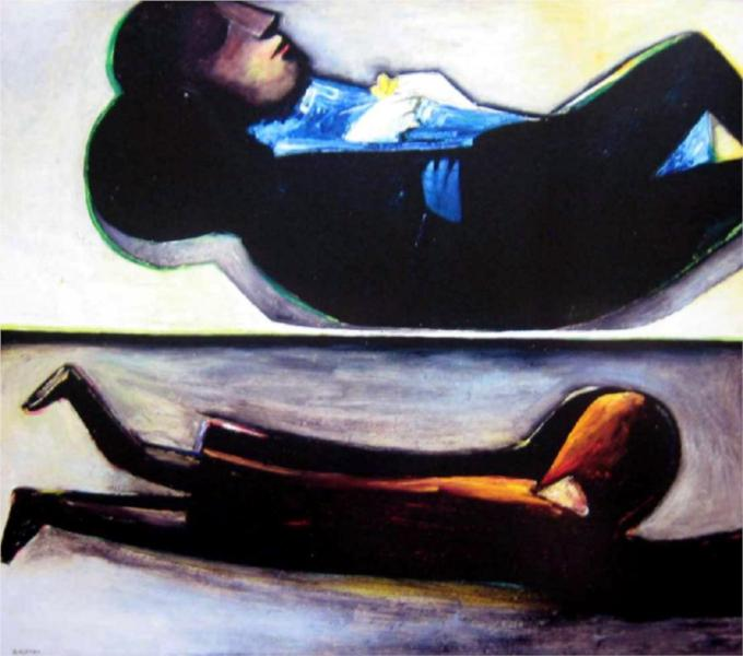 Double Image, 1961 - Charles Blackman