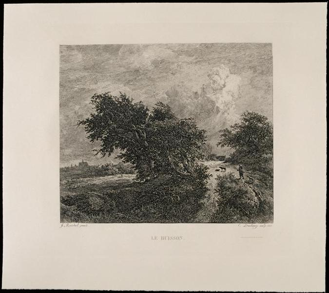 The Bush - Charles-Francois Daubigny