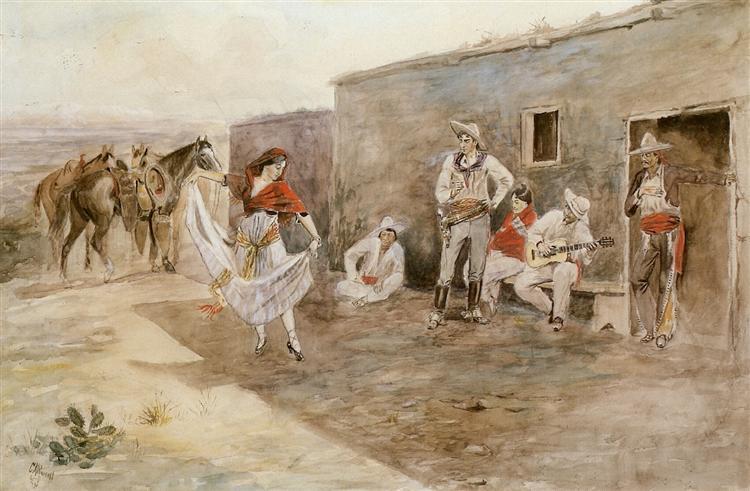 Casa Alegre, 1899 - Charles M. Russell