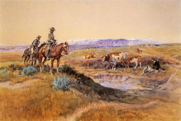 Worked Over, 1925 - Charles M. Russell