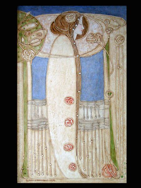 Décor de la salle à manger (House for an art lover, Glasgow), 1901 - Charles Rennie Mackintosh