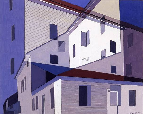 On A Shaker Theme #2 - Charles Sheeler