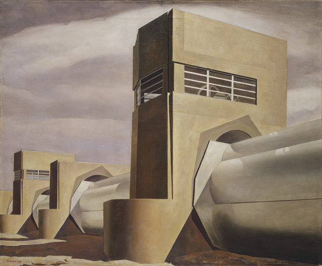 Water - Charles Sheeler