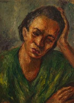 Woman Resting - Charles Wilbert White