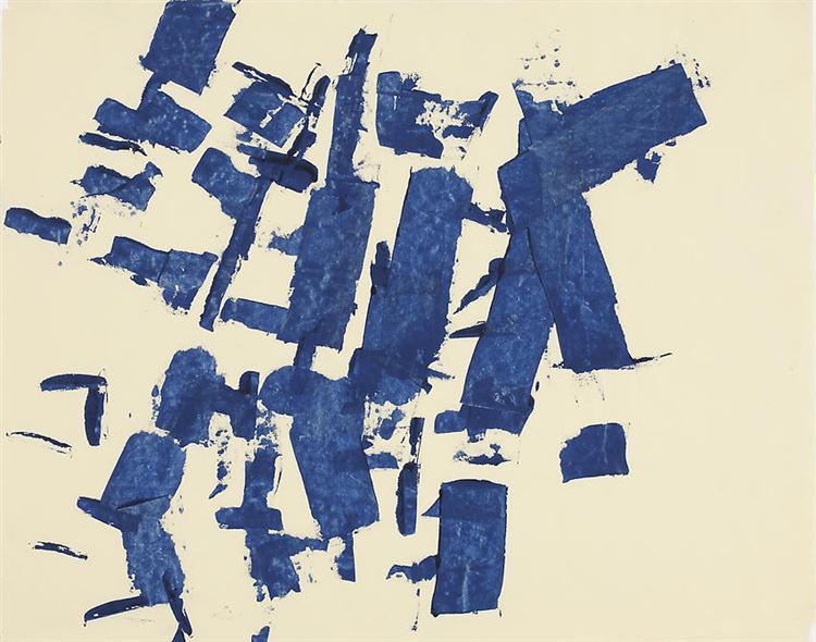 Untitled, 1961 - Charlotte Posenenske