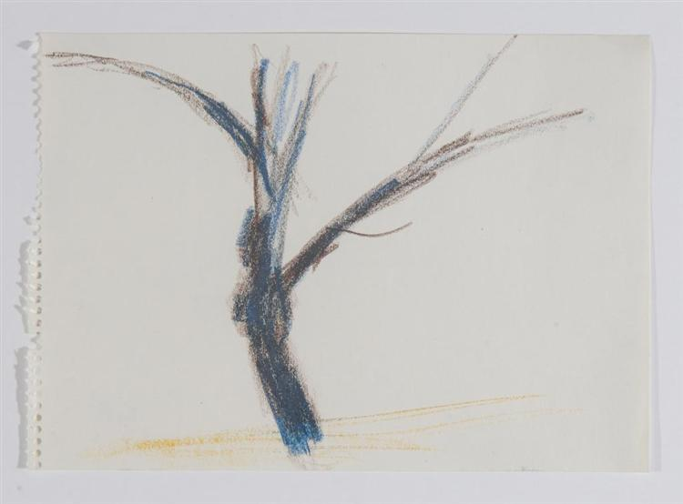 Untitled (After Nature: Tree), 1959 - Charlotte Posenenske