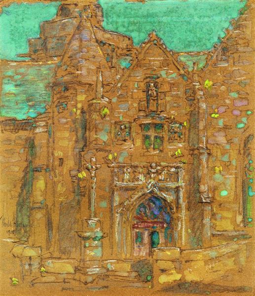 Brelevenez, Lannion, Cote du Nord, France, 1910 - Childe Hassam