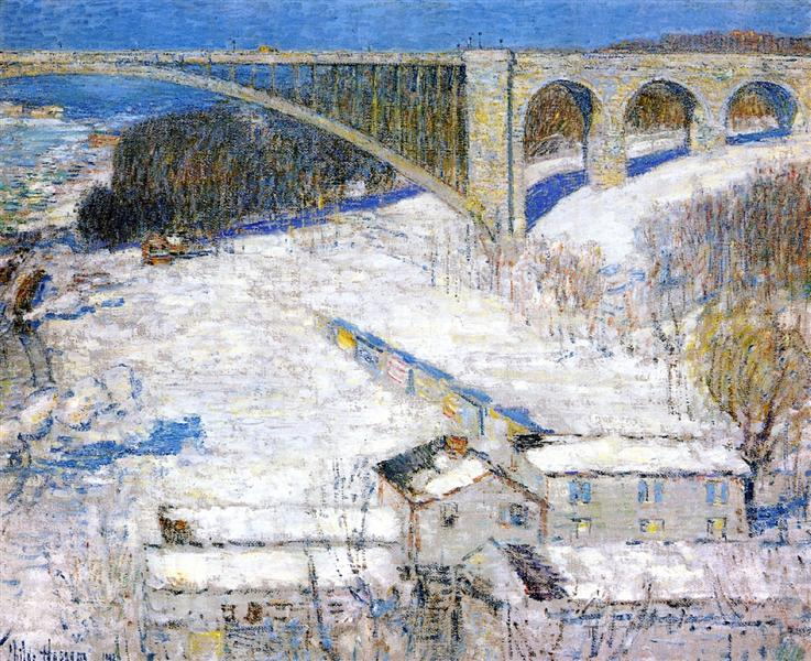 High Bridge, 1922 - Childe Hassam