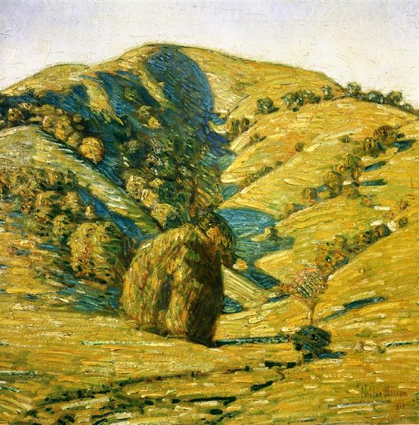 Hill of the Sun, San Anselmo, California, 1914 - Childe Hassam