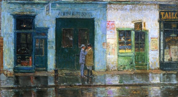 Little Cobbler's Shop, 1912 - Childe Hassam